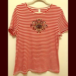 White Stag Top Size Large Shell Design